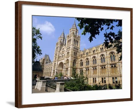 The Natural History Museum, South Kensington, London, England, UK-Mark Mawson-Framed Art Print