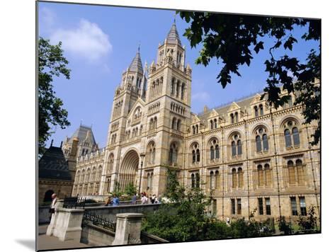 The Natural History Museum, South Kensington, London, England, UK-Mark Mawson-Mounted Photographic Print