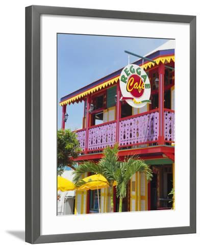 Phillipsburg, St. Marten, Leeward Islands, Caribbean, West Indies-Mark Mawson-Framed Art Print
