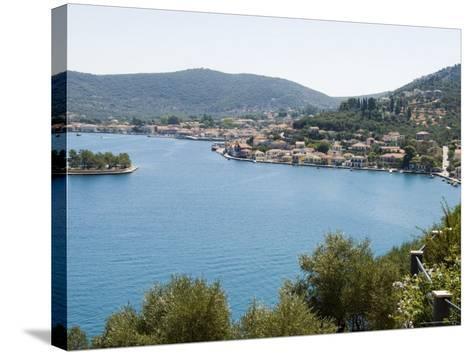 Vathy (Vathi), Ithaka, Ionian Islands, Greece, Europe-Robert Harding-Stretched Canvas Print