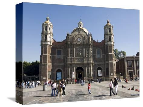 The Antigua Basilica Adjacent to the Basilica De Guadalupe, Mexico City, Mexico, North America-Robert Harding-Stretched Canvas Print
