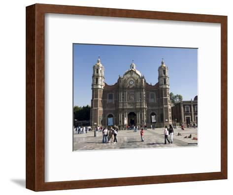 The Antigua Basilica Adjacent to the Basilica De Guadalupe, Mexico City, Mexico, North America-Robert Harding-Framed Art Print