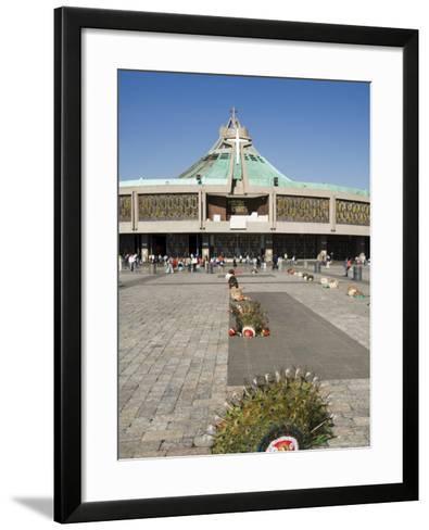 Basilica De Guadalupe, a Famous Pilgrimage Centre, Mexico City, Mexico, North America-Robert Harding-Framed Art Print