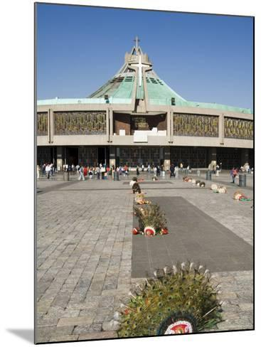 Basilica De Guadalupe, a Famous Pilgrimage Centre, Mexico City, Mexico, North America-Robert Harding-Mounted Photographic Print