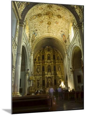 Church of Santo Domingo, Oaxaca City, Oaxaca, Mexico, North America-Robert Harding-Mounted Photographic Print