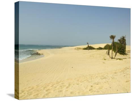 Praia De Chaves (Chaves Beach), Boa Vista, Cape Verde Islands, Atlantic, Africa-Robert Harding-Stretched Canvas Print