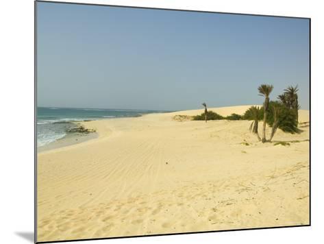 Praia De Chaves (Chaves Beach), Boa Vista, Cape Verde Islands, Atlantic, Africa-Robert Harding-Mounted Photographic Print