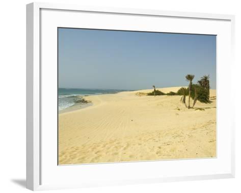 Praia De Chaves (Chaves Beach), Boa Vista, Cape Verde Islands, Atlantic, Africa-Robert Harding-Framed Art Print