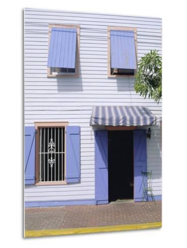 Old Town, Key West, Florida Keys, Florida, USA-Fraser Hall-Metal Print