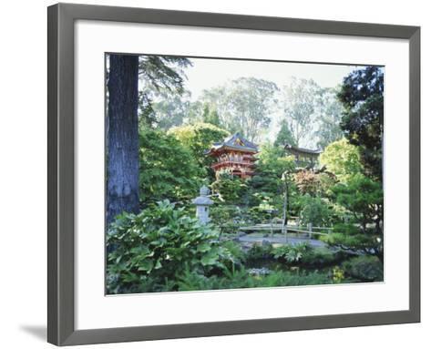 The Japanese Tea Garden, Golden Gate Park, San Francisco, California, USA-Fraser Hall-Framed Art Print