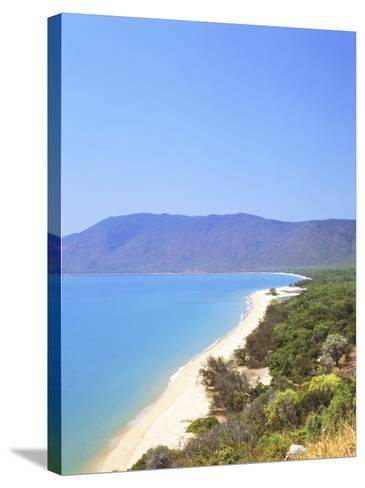 The Coast Between Cairns and Port Douglas on the Cook Highway, Queensland, Australia-Fraser Hall-Stretched Canvas Print