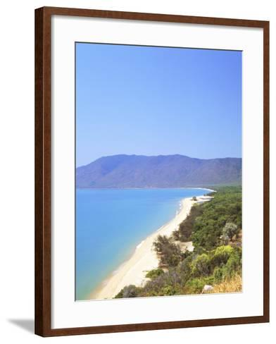 The Coast Between Cairns and Port Douglas on the Cook Highway, Queensland, Australia-Fraser Hall-Framed Art Print