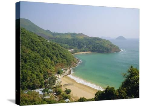 Clearwater Bay, New Territories Coastline, Hong Kong, China-Fraser Hall-Stretched Canvas Print
