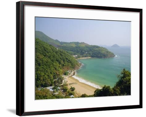 Clearwater Bay, New Territories Coastline, Hong Kong, China-Fraser Hall-Framed Art Print