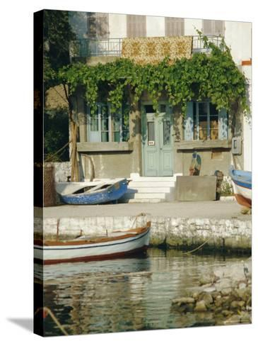 Lakka, Paxos, Ionian Islands, Greece, Europe-Fraser Hall-Stretched Canvas Print