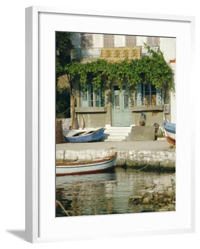 Lakka, Paxos, Ionian Islands, Greece, Europe-Fraser Hall-Framed Art Print