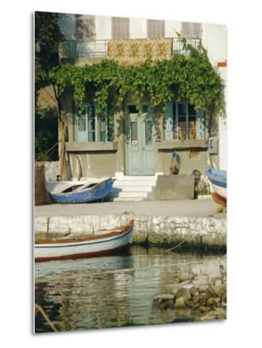 Lakka, Paxos, Ionian Islands, Greece, Europe-Fraser Hall-Metal Print