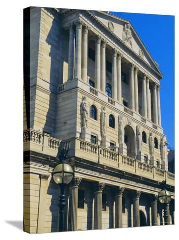 The Bank of England, City of London, England, UK-Fraser Hall-Stretched Canvas Print