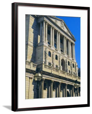 The Bank of England, City of London, England, UK-Fraser Hall-Framed Art Print