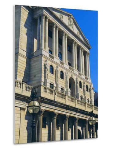 The Bank of England, City of London, England, UK-Fraser Hall-Metal Print