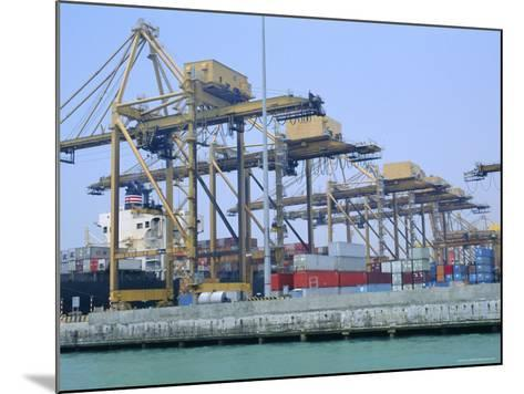 Containers on the Docks, Singapore Harbour, Singapore-Fraser Hall-Mounted Photographic Print