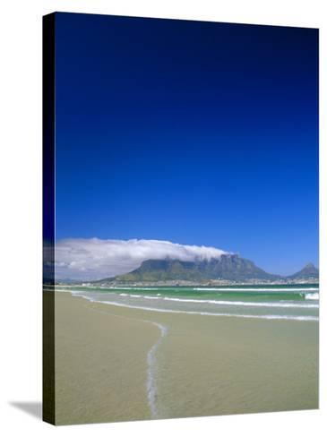 Table Mountain from Bloubergstrand, Cape Town, South Africa-Fraser Hall-Stretched Canvas Print
