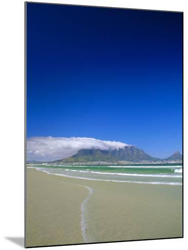 Table Mountain from Bloubergstrand, Cape Town, South Africa-Fraser Hall-Mounted Photographic Print