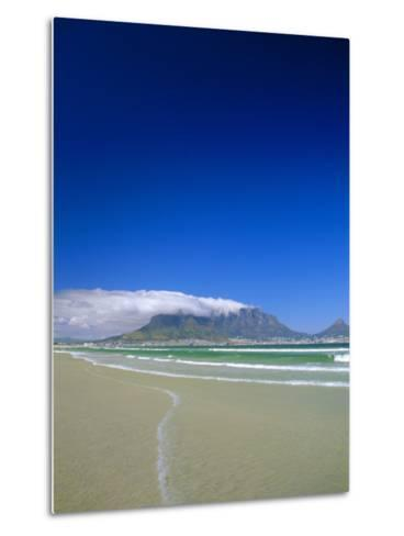 Table Mountain from Bloubergstrand, Cape Town, South Africa-Fraser Hall-Metal Print