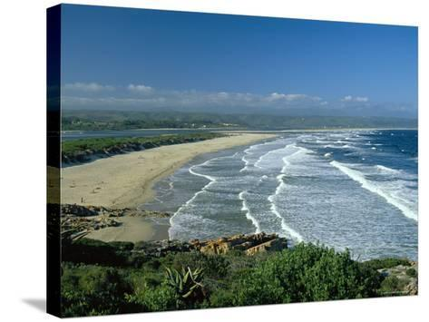 Plettenberg Bay, on the Garden Route, South Africa-Fraser Hall-Stretched Canvas Print