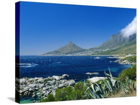 View from Chapman's Peak Drive, Near Cape Town, South Africa-Fraser Hall-Stretched Canvas Print