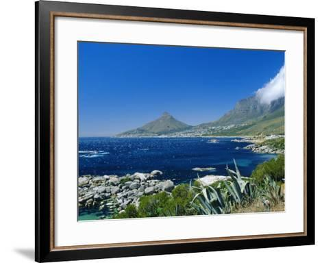 View from Chapman's Peak Drive, Near Cape Town, South Africa-Fraser Hall-Framed Art Print
