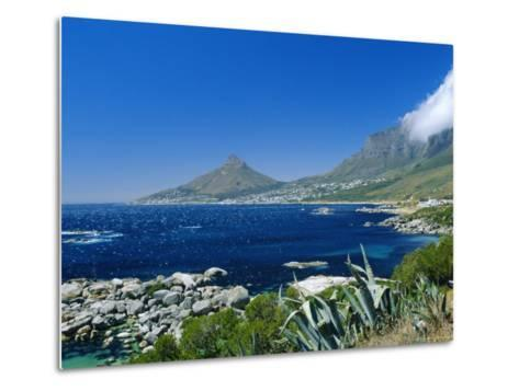 View from Chapman's Peak Drive, Near Cape Town, South Africa-Fraser Hall-Metal Print