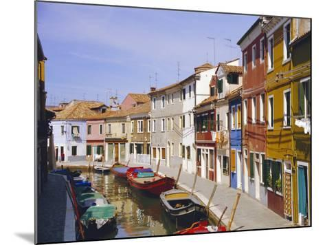 Canal in Burano, Venice, Italy-Fraser Hall-Mounted Photographic Print