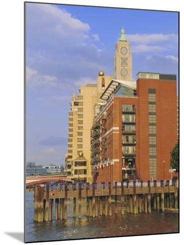 The Oxo Tower, South Bank of the River Thames, London, England, UK-Fraser Hall-Mounted Photographic Print