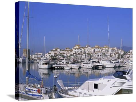 Puerto Banus, Near Marbella, Costa Del Sol, Andalucia (Andalusia), Spain, Europe-Fraser Hall-Stretched Canvas Print