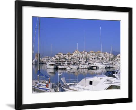 Puerto Banus, Near Marbella, Costa Del Sol, Andalucia (Andalusia), Spain, Europe-Fraser Hall-Framed Art Print