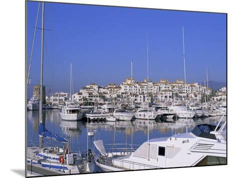 Puerto Banus, Near Marbella, Costa Del Sol, Andalucia (Andalusia), Spain, Europe-Fraser Hall-Mounted Photographic Print