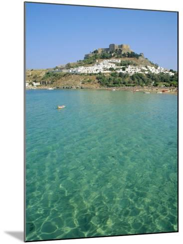 Lindos, Rhodes, Greece-Fraser Hall-Mounted Photographic Print