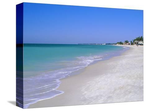 North of Longboat Key, Anna Maria Island, Gulf Coast, Florida, USA-Fraser Hall-Stretched Canvas Print