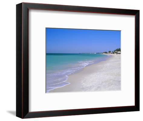 North of Longboat Key, Anna Maria Island, Gulf Coast, Florida, USA-Fraser Hall-Framed Art Print