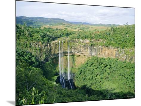 Chamarel Waterfall, Mauritius-Fraser Hall-Mounted Photographic Print