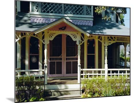 Cottage City, 19th C. Cottages, Oak Bluffs, Martha's Vineyard, Massachusetts USA-Fraser Hall-Mounted Photographic Print