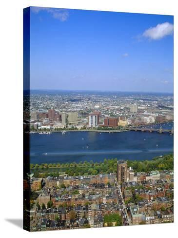 Charles River, Back Bay Area, Boston, Massachusetts, USA-Fraser Hall-Stretched Canvas Print