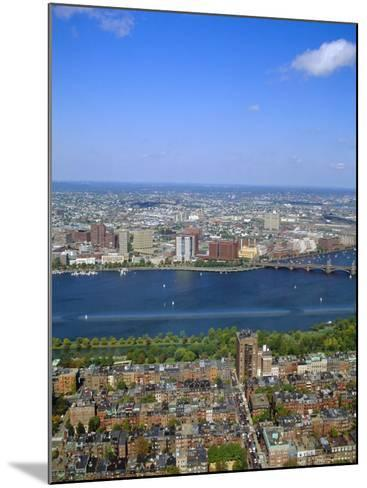 Charles River, Back Bay Area, Boston, Massachusetts, USA-Fraser Hall-Mounted Photographic Print