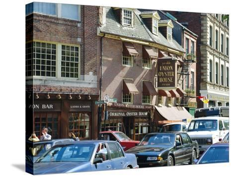 Union Oyster House, 1826, Union Street, Boston, Massachusetts, USA-Fraser Hall-Stretched Canvas Print