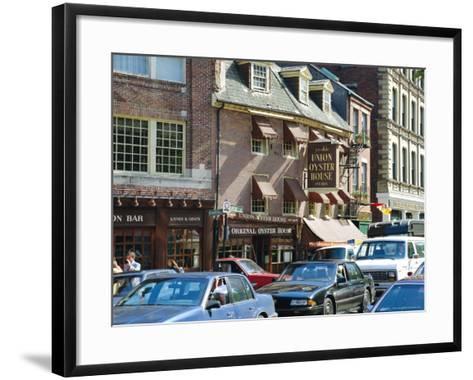 Union Oyster House, 1826, Union Street, Boston, Massachusetts, USA-Fraser Hall-Framed Art Print