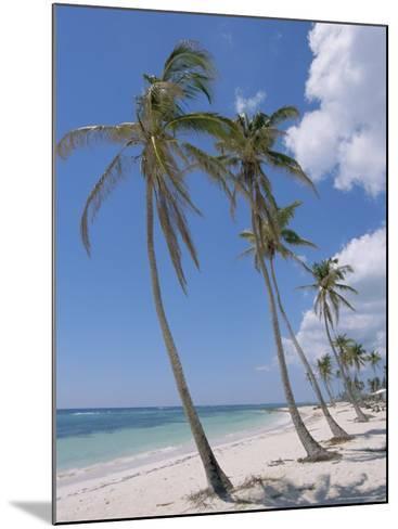 Saona Island, South Coast, Dominican Republic, Central America-Guy Thouvenin-Mounted Photographic Print
