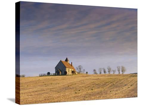 St. Hubert's Church, Idsworth, Hampshire, England, UK-Jean Brooks-Stretched Canvas Print
