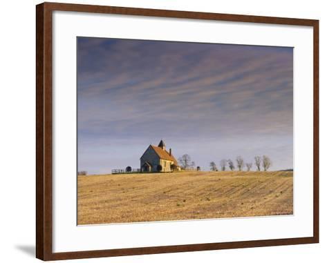 St. Hubert's Church, Idsworth, Hampshire, England, UK-Jean Brooks-Framed Art Print