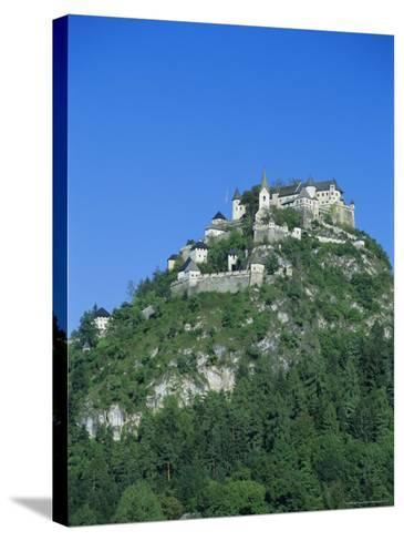 Hochosterwitz Castle, Carinthia, Austria, Europe-Jean Brooks-Stretched Canvas Print